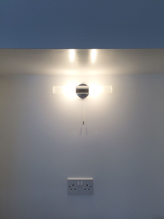 kitchen alcove light
