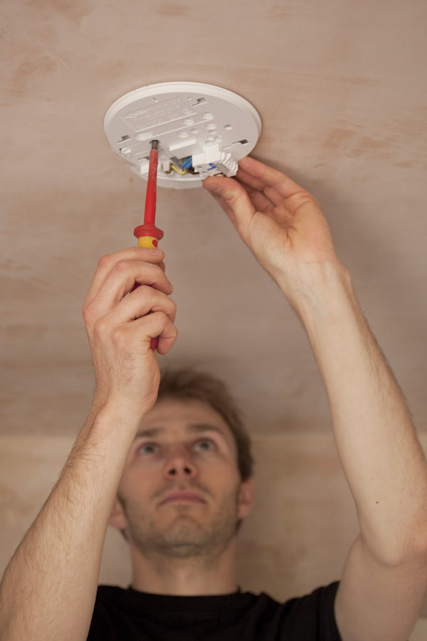 fitting mains wired smoke alarms is one of our services
