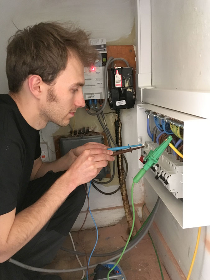 fuse board testing is included in an Electrical Installation Condition Report