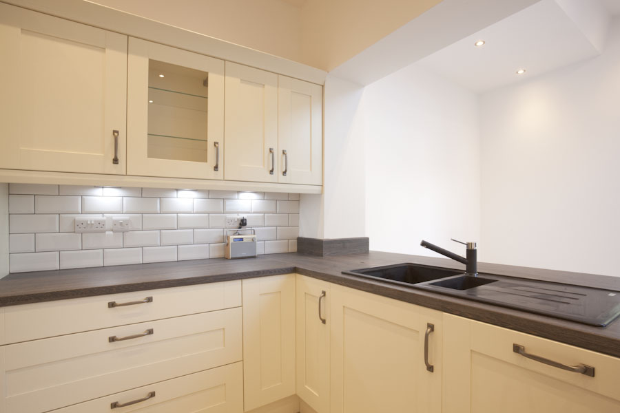 kitchens need good lighting and well positioned sockets